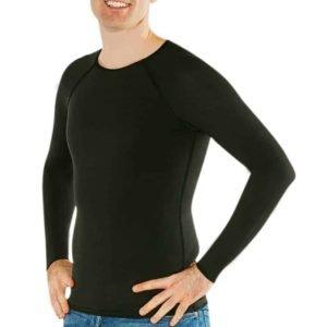 Mens_black_long_sleeves_shirt_sensory-clothing