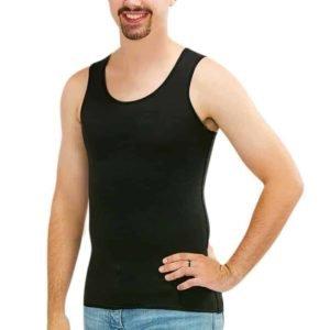 Mens_black_vest_sensory-clothing