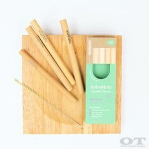 Bamboo straw - light brown