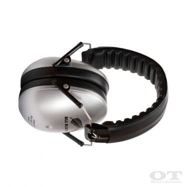Earmuffs hearing protection for ages - ALL BLACKS