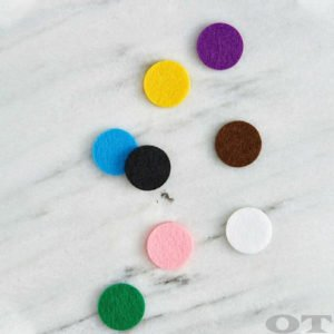 Aromatherapy Diffusing PADS - Rainbow (30mm)