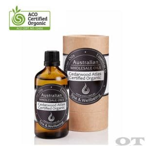 Cedarwood Essential Oil (Atlas) Certified Organic 100ml