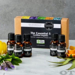 Essential Oil Pack - The Essential 5 Certified Organic