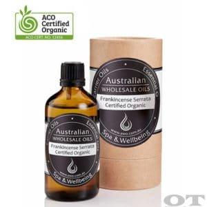 Frankincense Serrata Essential Oil Certified Organic 100ml