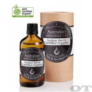 Juniper Berry Essential Oil Certified Organic 100ml