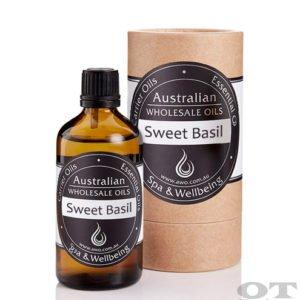 Sweet Basil Essential Oil 100ml
