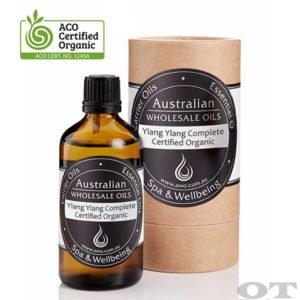Ylang Ylang Complete Essential Oil Certified Organic 100ml